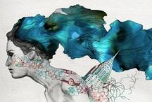 Gabriel Moreno / a Spanish llustrator, engraver and painter.. unique style.. / by Sasha Sotirov