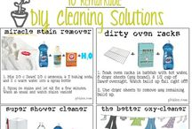 House cleaning tips - products / by Patty Smith Green