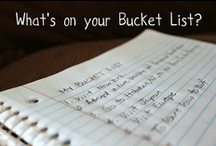 One Life to Live / My Bucket List / by Quantella Smith
