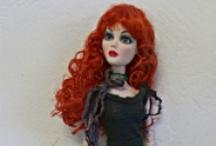 Madd Alice Doll Designs / My mom's doll fashions for Evangeline Ghastly & Ellowyne Wilde dolls.