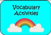 Vocabulary Activities  / Some free, some cost!