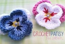 Crochet Flowers, Bows, Pompons and Curls / Crochet Flowers, bows, pompons,and curls to give your project that extra bloom and and cuteness....