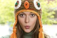 Crochet Hats and Mittens / All ages of hats and mittens to keep warm or be in style