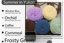 Crochet Colour Combos / Having trouble with colour combo and yarn choices???