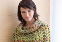Crochet Shawls and Ponchos / Crochet projects featuring shawls and ponchos