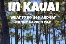 Hawaii / How I plan to soak up as much Hawaii as possible. / by Madeleine Wright