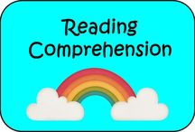 Reading Comprehension / Board all about Reading Comprehension