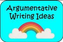 Argumentative Writing Ideas / Ideas for argumentative writing