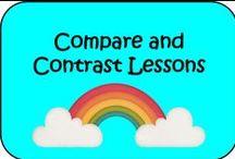 Compare and Contrast Lesson Ideas