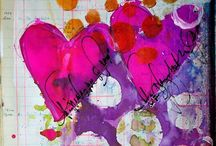 Art Journal Therapy / art journals  / by Staci Guthrie