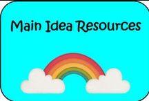 Main Idea Resources