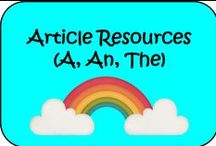 Articles Resources  (a, an, the)
