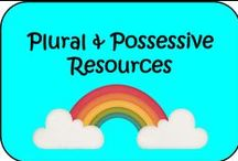 Plural and Possessive Resources