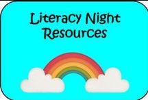 Literacy Night Ideas