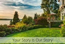 Your Story Is Our Story / The unique stories demonstrating the depth and beauty of our clients' homes
