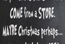 C H R I S T M A S     s p i r i t / Maybe Christmas means just a little bit more.