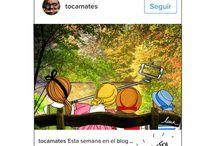 RetosTocamates / Ilustraciones para los retos semanales de Tocamates.