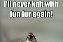 Funny knitting memes