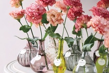 Bottles (and Jars) are Beautiful / Bottle decor. A good thing.