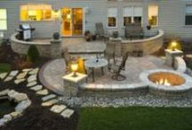 Backyard Landscaping/Gardening Ideas / by Misty Johnson