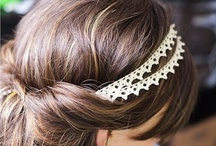 Bridal Hair and Accessories / Bridal hair styles - long and short, and accessories. Bridal headpieces. Floral garlands. Boho hair accessories.