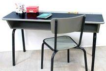 Desks / Vintage Desks from bianca-and-family.com - Bureaux Vintage et restaurés Bianca and Family