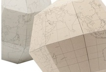 Globes/maps/Milda