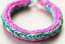 Rainbow Loom / Coolest toy ever! (We are loom obsessed!)