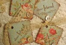 """Tag"" your it! / Decorative Tags / by Denise Ridgeway-Hays"