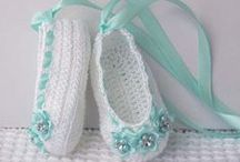 Crochet - Baby Booties & Shoes / by Summer Young