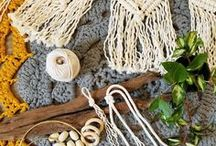 Macrame - MossHound Designs / Macrame - inspired by HYGGE & all things nature