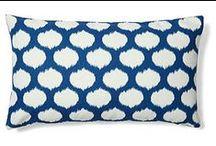 DESIGN - PILLOWS / how to mix Accent Pillows