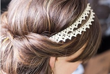 cheveux / because everyone seems to have a board dedicated to pretty hairstyles...