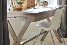INTERIORS - HOME OFFICE / At home office ideas