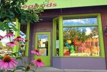 Store Pics / by Peapods Natural Toys & Baby Care