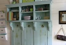 Mudroom Decorating Ideas / by Whimsy Couture Sewing Patterns