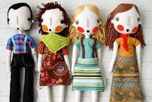 I ❤️ Dolls & Stuffed Toys / by Mónica Ordorica