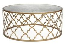 DESIGN - COFFEE TABLES / transitional rustic coffee tables