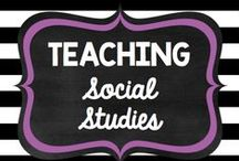 Teaching: Social Studies / by Rock and Teach