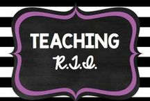 Teaching: RTI / by Rock and Teach