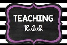 Teaching: RTI
