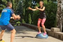 BOSU Exercises We Love / Ideas and inspirations for your BOSU workouts this week.