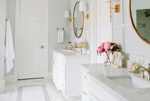 INTERIORS - BATHROOM DESIGNS / Updated bathroom ideas