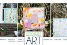 """Geschardt art  / Husband and wife artists.  """"Like"""" Geschardt art on Facebook to see great design and abstracts.  www.geschardtart.com  / by Reagan Geschardt"""