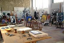 studio/office space / by Reagan Geschardt