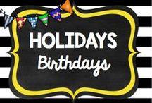 Holidays: Birthdays
