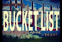 Austin Bucket List / Our favorite things to do in Austin, whether you live here or you're just passing through.