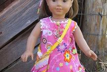 Free Doll Clothes Tutorials/Patterns / by Whimsy Couture Sewing Patterns