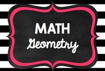 Teaching: Math: Geometry / by Rock and Teach