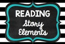 Teaching: Reading: Story Elements / by Rock and Teach